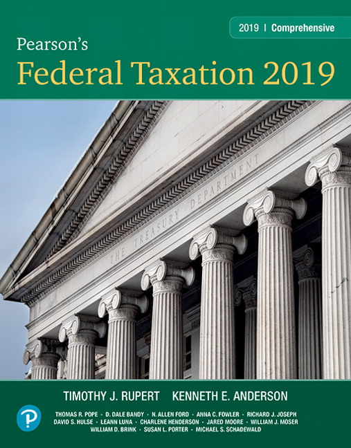 Section 1231 Property: Pearson's Federal Taxation 2019 Comprehensive 32nd Edition